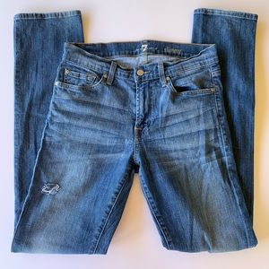7 For All Mankind, Slimmy Denim Jeans, size 30